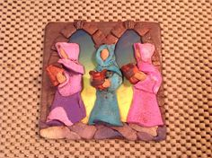 FIMO 50 World project tile from Irene Zdunczyk, USA