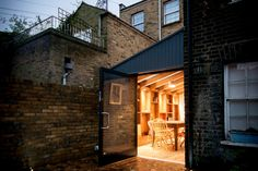 The Timber Frame Extension Victorian Terrace, Victorian Homes, House Extension Design, Extension Ideas, Glass Extension, Side Return Extension, Architects London, Timber Architecture, House Siding