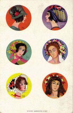 Artist Mela Koehler  wiener-werkstaette-postkarten.com