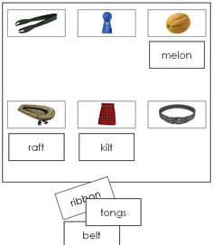 Sheets & Labels (Step photos) - This work includes phonetic words that are letters in length. This set has 6 sheets with 6 pictures on each, and 36 word labels. A great addition to your Montessori phonetic language curriculum. Curriculum, Language, Letters, Words, Photos, Resume, Pictures, Teaching Plan, Languages