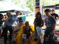The Naked CEO crew visited Murdoch Uni - looks like they had a great time on campus!