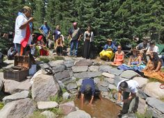 The Winnemem only visit the spring on Panther Meadow once a year. (Courtesy Christopher McLeod)