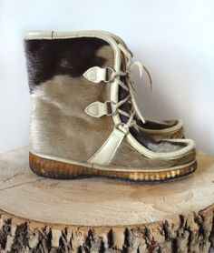 Sell On Etsy, Seal, Vintage Outfits, Boots, Winter, Shopping, Fashion, Crotch Boots, Winter Time