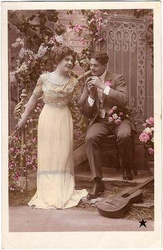 marinni | Влюбленные пары. Старинные фото и открытки.