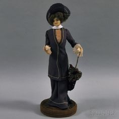 Lafitte-Desirat Wax Fashion Doll   Sale Number 2694M, Lot Number 724   Skinner Auctioneers