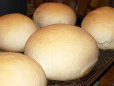Italian Bread Bowls - Fill with soup or stew!