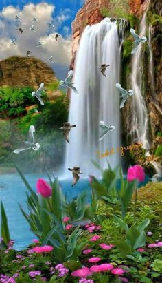 Cascada Hermosa | Beautiful Landscape Wallpaper, Beautiful Photography Nature, Beautiful Nature Wallpaper 1F3