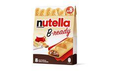 Avec B-ready, Nutella se lance sur le marché des biscuits du petit déjeuner