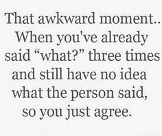 This happens to me all the time!