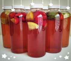 When it comes to flavoring kombucha, the sky's the limit, with the exception of a few ingredients that have the potential to damage your SCOBY (the Symbiotic Colony Of Bacteria and Yeast the does the work of fermenting sweet black tea into the tart-sweet probiotic kombucha brew). Although some people [...]