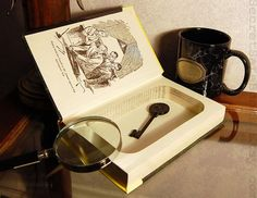 Hollow Book Safe NANCY DREW The Secret of the by SecretSafeBooks, SecretSafeBooks on etsy.com