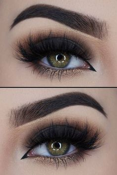 21 Sexy Smokey Eye Makeup Ideas to Help You Catch His Attention See more: glaminati.com/...