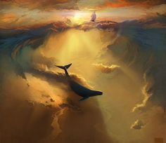 Artist Artyom Chebokha, aka Rhads, dreams up all kinds of surreal moments in his spectacular digital creations