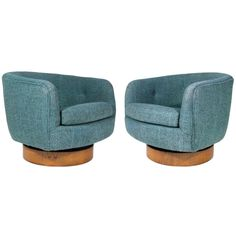 Superbe 1stdibs   Pair Milo Baughman Club Chairs Explore Items From 1,700 Global  Dealers At 1stdibs.com