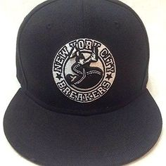 Limited edition  Classic Hip Hop BBoy style New York City Breakers  Sanpback BBoy style cap custom made limited edition NYCB