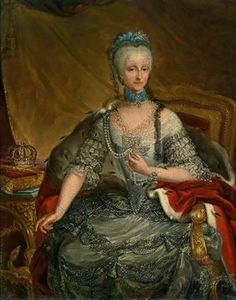 By Amadeo Grassi  Portrait of Queen Maria Antonia (Antoinette) Fernanda of Sardinia, Duchess of Savoy and Infanta of Spain (1729-1785)