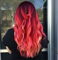 Likes, 52 Kommentare - Pulp Riot Hair Color (P . - Frisuren Tips Pulp Riot Hair Color, Vivid Hair Color, Cute Hair Colors, Pretty Hair Color, Bright Red Hair, Beautiful Hair Color, Hair Color Pink, Hair Dye Colors, Color Red