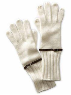 belted gloves
