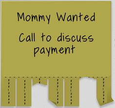 [Blog] Honest Toddler: Mommy Wanted: Job Offer