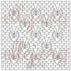 Crochet Stitch + Diagram + Pattern Step By Step + Video Tutorial