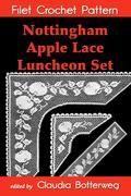 Nottingham Apple Lace Luncheon Set Filet Crochet Pattern