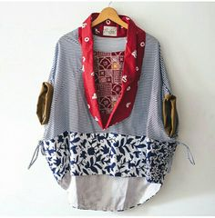 Kimono Jacket Vest Jacket Dress Making Patterns Kimono Fashion Fashion Outfits Womens Fashion Blouse Dress Casual Attire Cooler Look Batik Fashion, Boho Fashion, Fashion Dresses, Womens Fashion, Fashion Design, Fashion Ideas, Blouse Batik, Batik Dress, Batik Blazer
