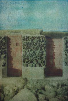 Goma bicromatada: Casa Lanzarote
