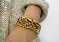 Get Crafty! Chic Safety Pin Bracelet