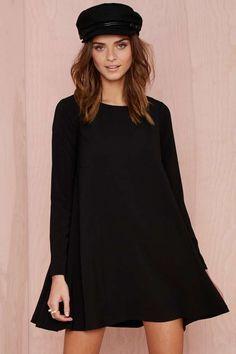 Nasty Gal Mood Swing Dress - Black | Shop Dresses at Nasty Gal