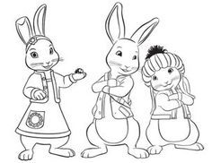 peter rabbit colouring in pages 6. preter peter rabbit fairy tale ...