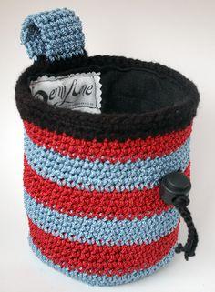 crochet chalk bag free pattern - Buscar con Google