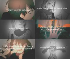 sad anime quotes about life - Google Search