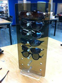 How to make an acrylic sunglass rack using a laser cutter