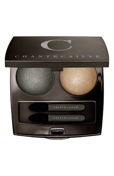 Chantecaille Holiday Collection 'Le Chrome - Grand Canal' Luxe Eye Duo $58.00 Beautiful, smooth, satin finish!  Shades include: - Laguna (water green/grey) - Rialto (shimmering gold)