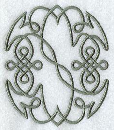 Celtic Knotwork Number 0 - 5 Inch