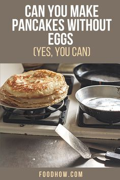 Yes, you can make pancakes without eggs. Whether you are vegan or you just don't have egg, you don't need a special pancake recipe. Here are some really clever foods that work as a perfect substitute for eggs in any pancake recipe. Check it out now - 17 Ingredients You Can Use To Replace Eggs. Egg Free Pancakes, Pancakes Easy, Protein Powder Pancakes, Vegan Egg Replacement, Light And Fluffy Pancakes, How To Cook Beans, How To Make Pancakes, Substitute For Egg, Weigh Loss