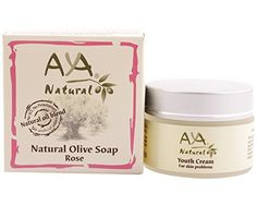 Clogged Pores Natural Cleansing Kit  Vegan Cleanser Face Wash Soap 34 oz and Facial Cream 17 oz Care  Shea Olive Jojoba Tea Tree  Almond Oils Blend Set by Aya Natural ** You can find more details by visiting the image link.