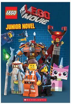 LEGO Movie Junior Novel LEGO MOVIE!!! BOOKS, STICKERS, VIDEO GAMES