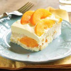 Peaches And Cream Cake - Holidays