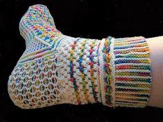 Lucy Neatby's Fiesta Feet Sock by BatOutOfHell, via Flickr