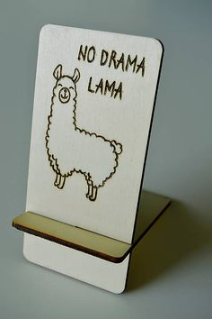 No drama lama / vyrobkyprestastie - SAShE. No Drama Lama