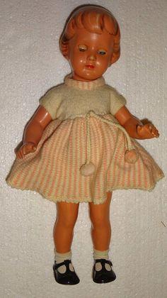 Original alte Schildkrötpuppe Schildkröt Puppe Größe 43 • EUR 20,99 - PicClick DE