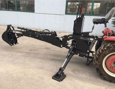 "BH5600 PTO 3 Point Backhoe Tractor Excavator Attachment w/ Pump 15"" Bucket"