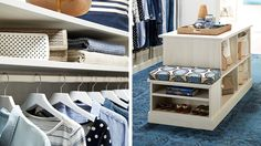 Clothing Storage - Clothes Hangers - Closet Ideas - Container Store - Home Organization