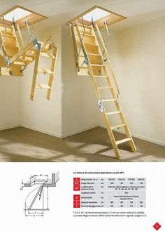 Image result for attic stairs pull down