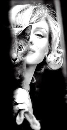 Marilyn Monroe - noir et blanc