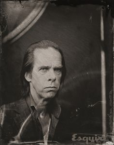 Nick Cave... Sundance 2014 Old-Fashioned Portraits - Sundance 2014 Victoria Will Tintypes - Esquire