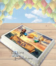 Tinkerbell and the Pirate Fairy Edible Image Cake Topper [SHEET]