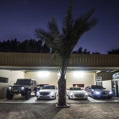 Mercedes Benz dream garage.