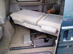 c11507e0dd Bongo Swivelling bench seat - Northstar Conversions Bongo Campervan